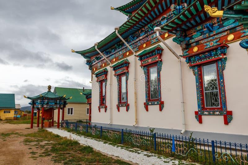 Ivolginsky datsan, Buryatia Rosja obrazy stock