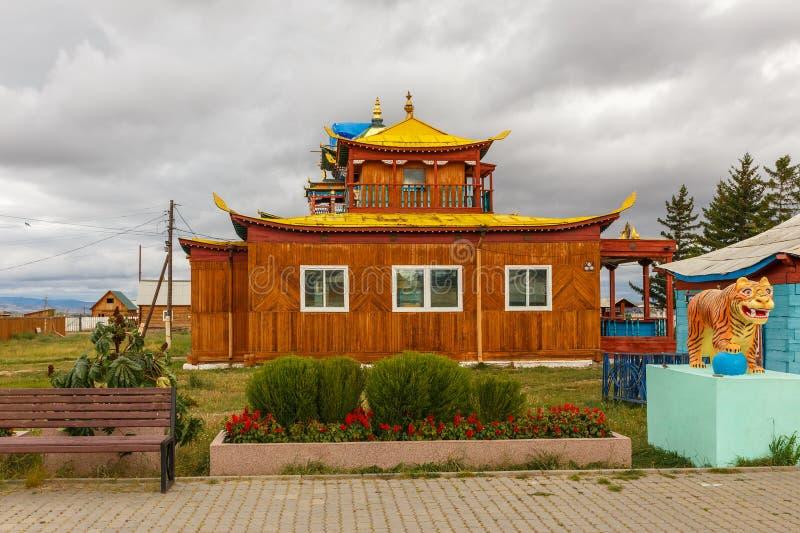 Ivolginsky datsan, Buryatia Rosja obrazy royalty free