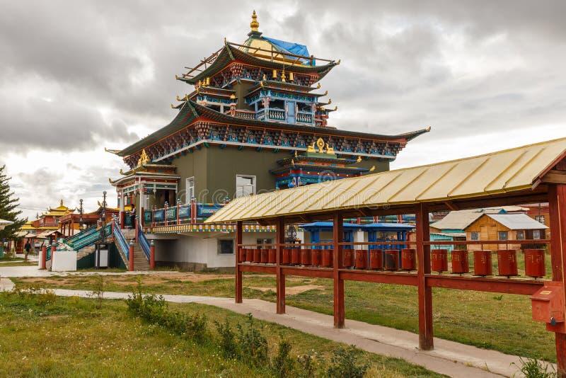 Ivolginsky datsan, Buryatia Rosja zdjęcia royalty free