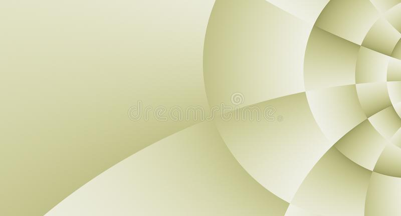 Ivory Tan White High Resolution Abstract Spiral Business Background Design vector illustration