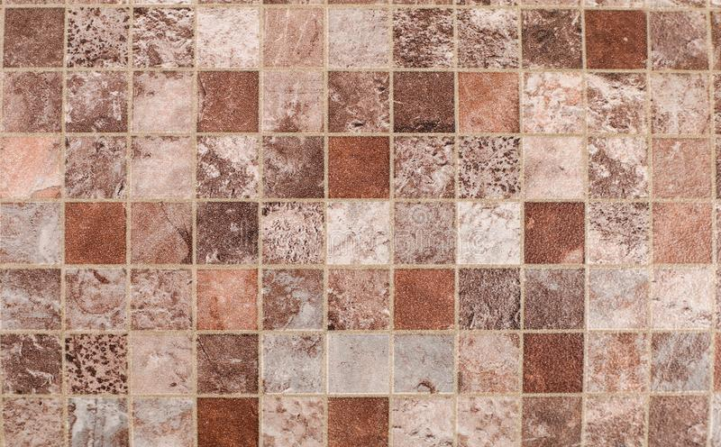 Ivory tile cubes texture and background. Top view royalty free stock photos