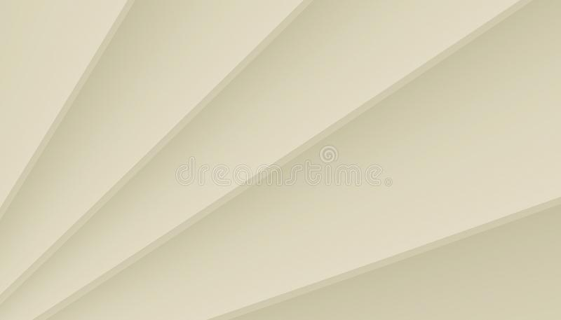 Ivory white contoured angled lines abstract wallpaper illustration. A clean and simple design of contoured angled lines in gradient shades of ivory white vector illustration