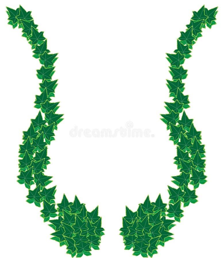 Download Ivy border frame stock vector. Image of ivory, borderdecor - 11273020