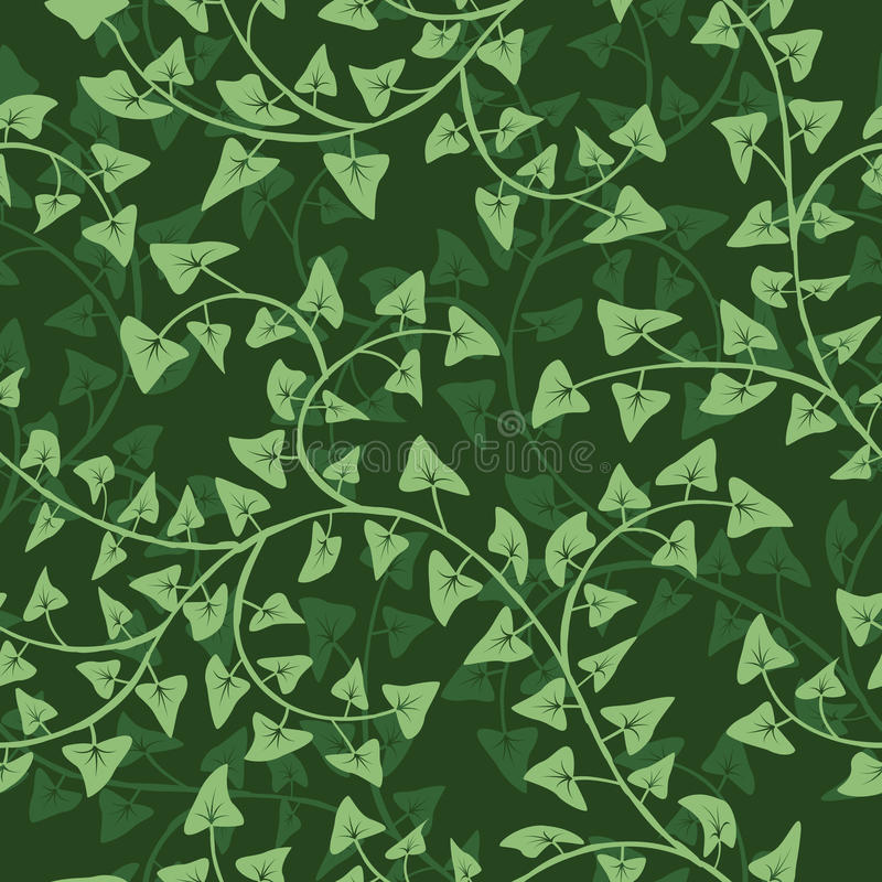 Download Ivy Seamless  Repeat Pattern Stock Vector - Image: 19982096
