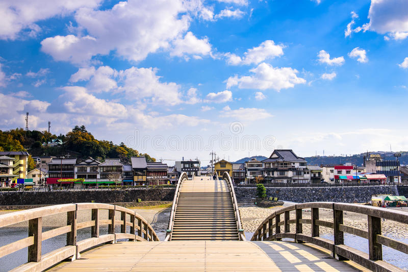 Iwakuni Hiroshima, Japan royaltyfri bild