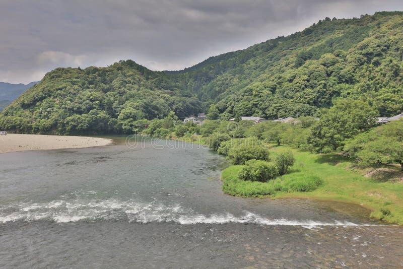 Iwakuni Japan den Kintai bron royaltyfri fotografi