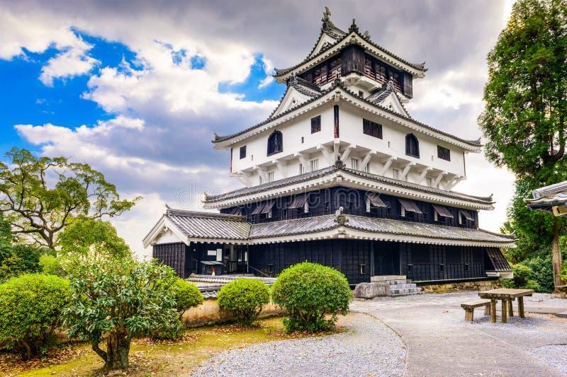 Iwakuni slott, Japan royaltyfri foto
