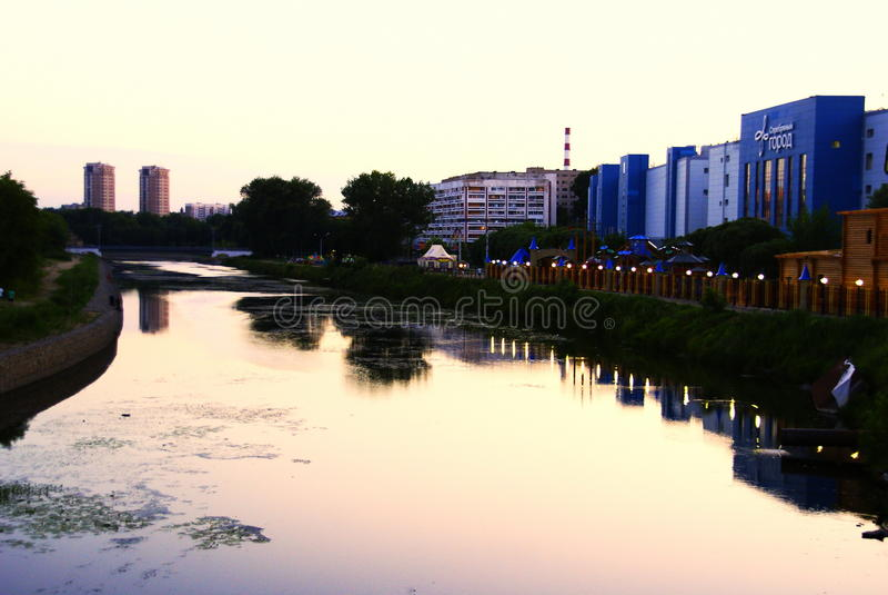 Iwanowo-Stadt stockbild