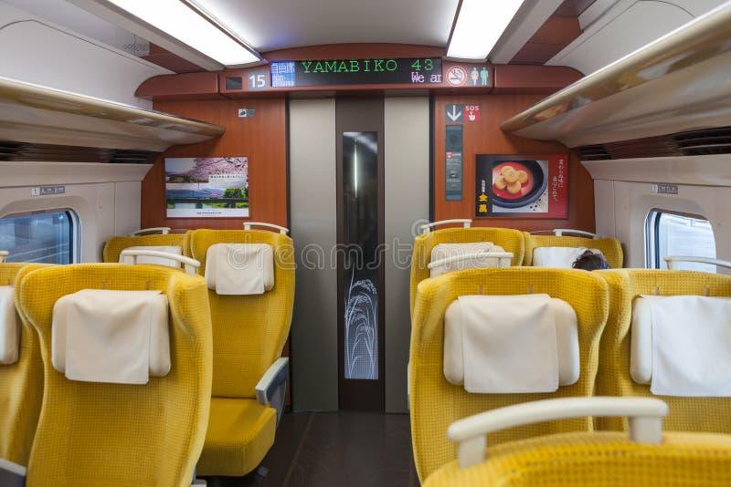 Download Iwate, Japón - Abril 27,2014: Dentro E6 De La Serie Shinkansen Imagen editorial - Imagen de negocios, interurbano: 64212635