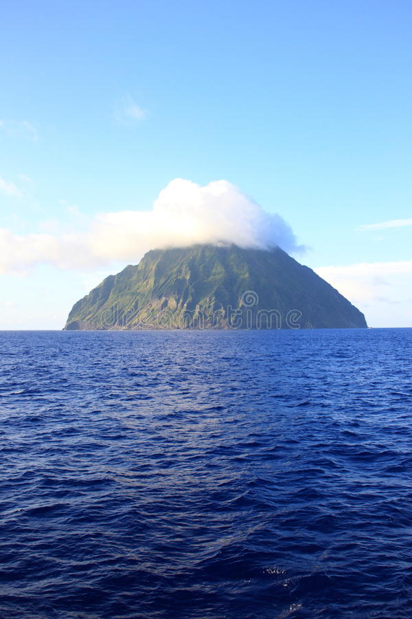 Iwo Island. (volcanic islands) in Ogasawara Islands, Japan stock image