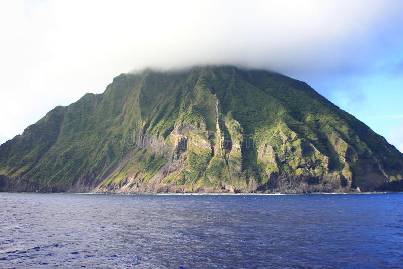 Iwo Island stock photo