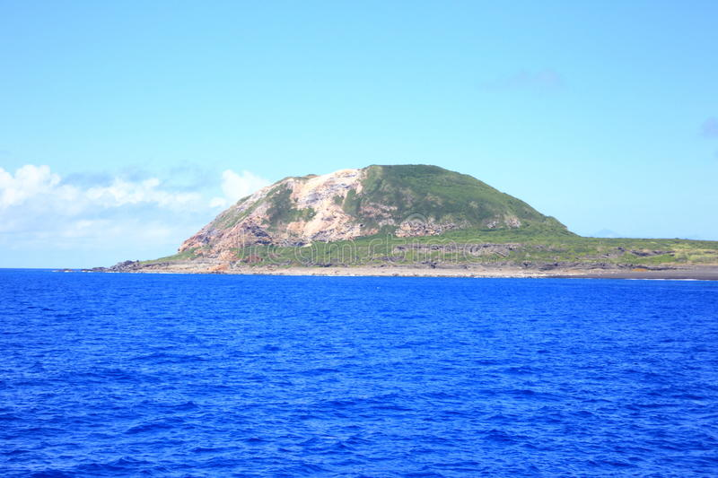 Iwo Island. (volcanic islands) in Ogasawara Islands, Japan stock photo