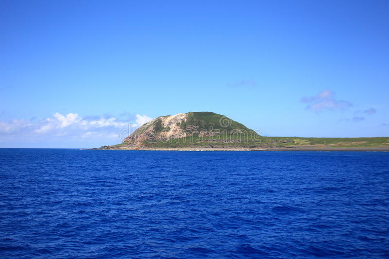 Iwo Island. (volcanic islands) in Ogasawara Islands, Japan royalty free stock photo