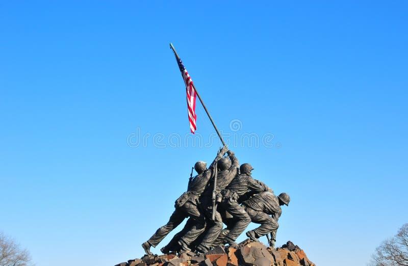 Iwo Jima arkivbild