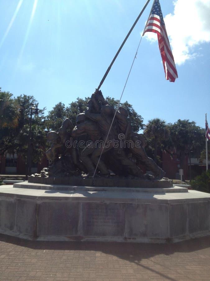 Iwo Jima fotografía de archivo libre de regalías