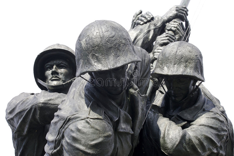 Iwo Jima flottaminnesmärke