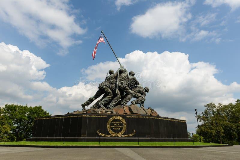 Iwo Jima Memorial imagens de stock royalty free