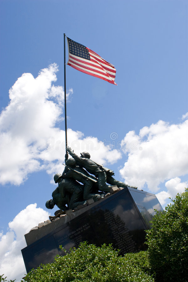 Iwo Jima Memorial stock images