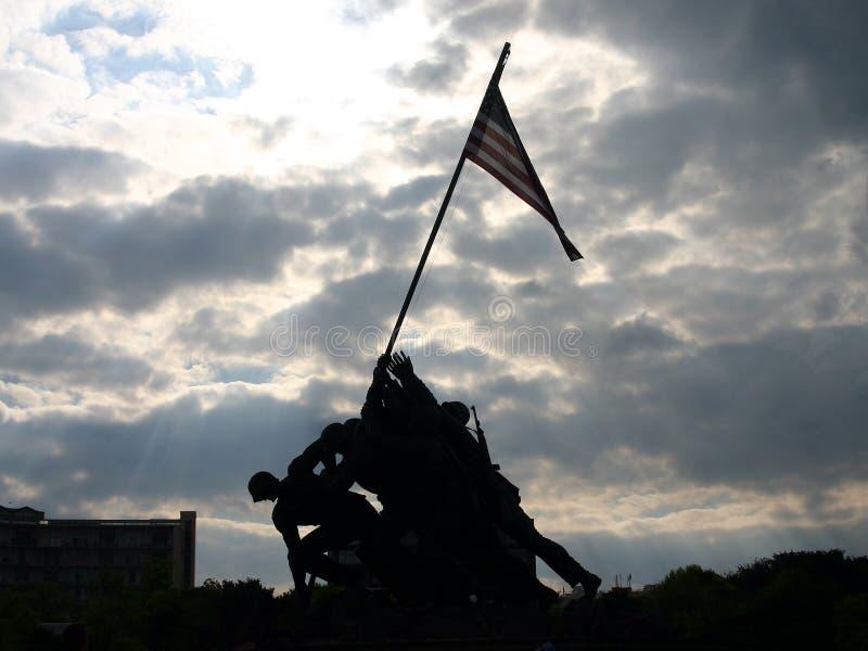 Download Iwo Jima minnesmärke redaktionell foto. Bild av seger, härlighet - 975625