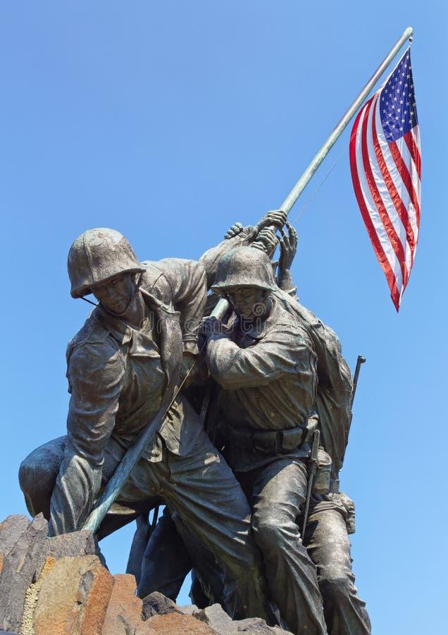 Iwo Jima staty royaltyfri fotografi