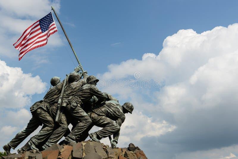 Iwo Jima Washington DC royaltyfria foton