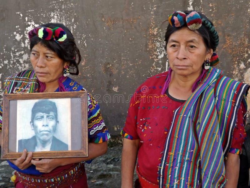 Ixil kvinnor royaltyfria foton