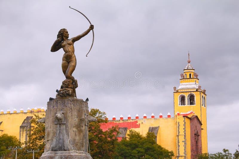 Ixmiquilpan I royaltyfri foto