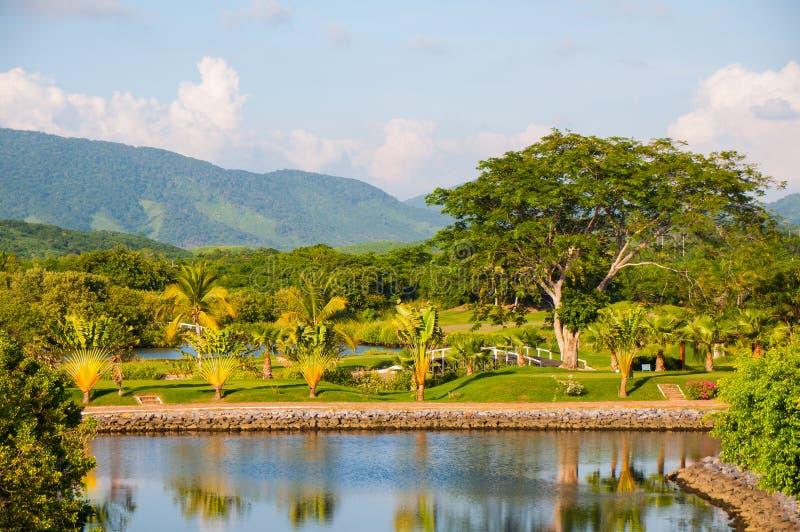 Ixtapa pole golfowe obraz stock