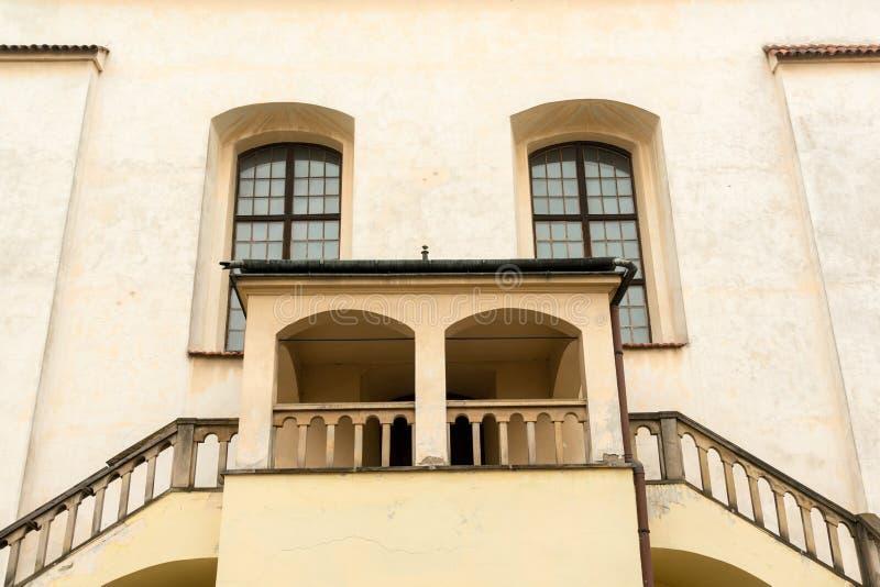 Izaac-Synagoge in Krakau lizenzfreie stockfotografie