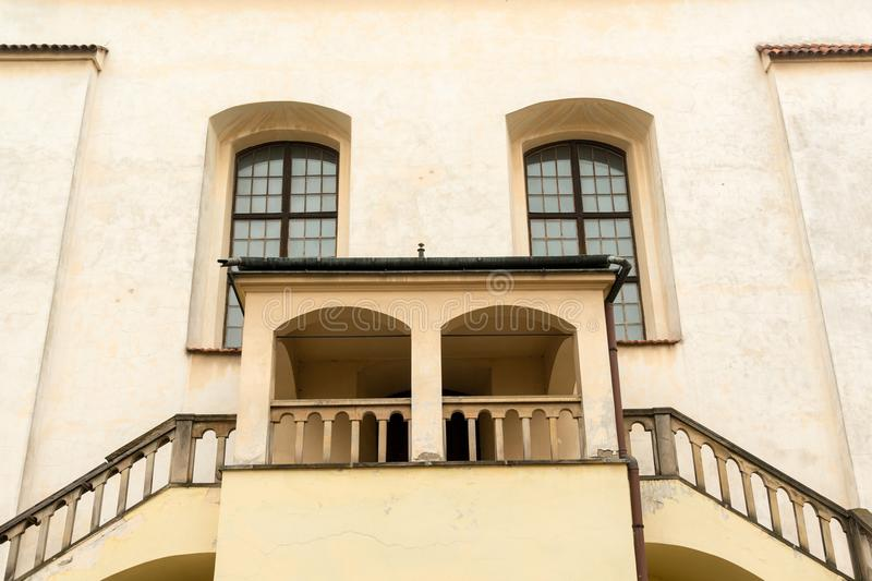 Izaac synagogue in Krakow royalty free stock photography