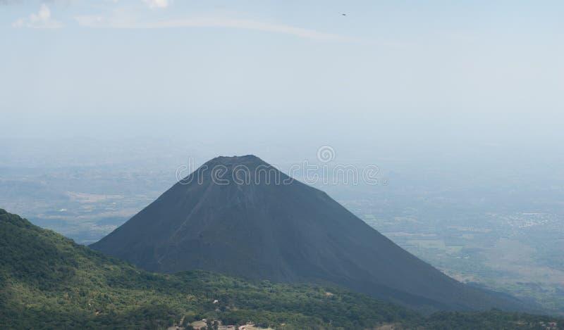 Izalco vulkan arkivfoto