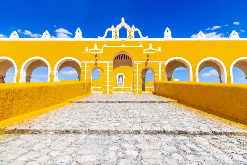 Izamal, Yucatan Peninsula - Mexico stock photo