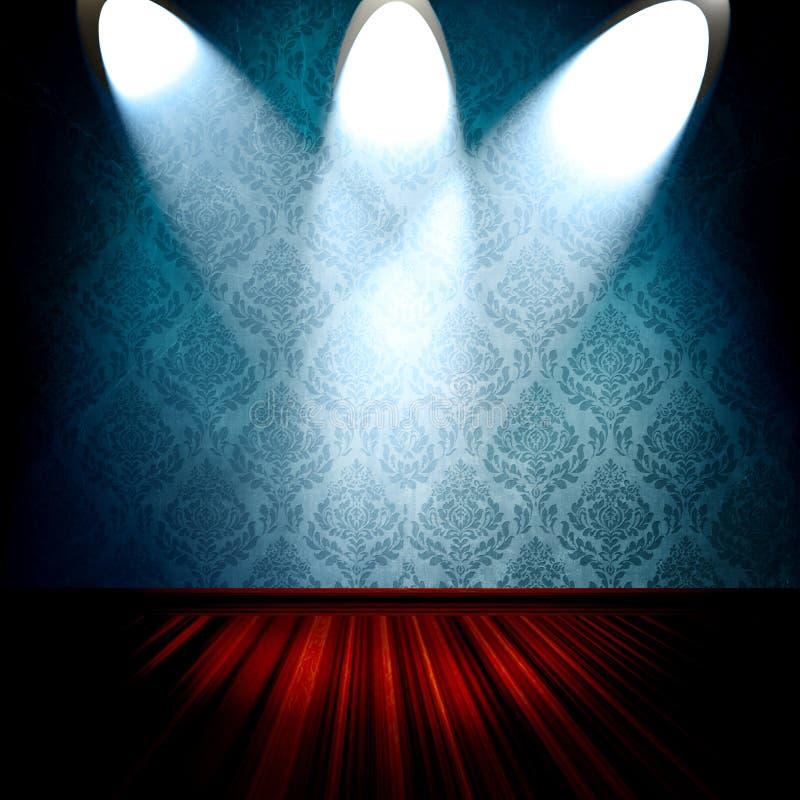 izbowi światło reflektorów ilustracji