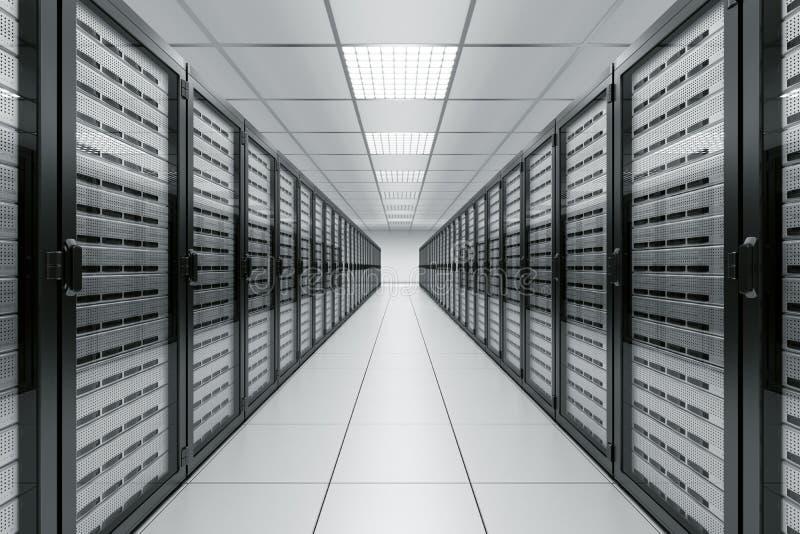 izbowy serwer ilustracji