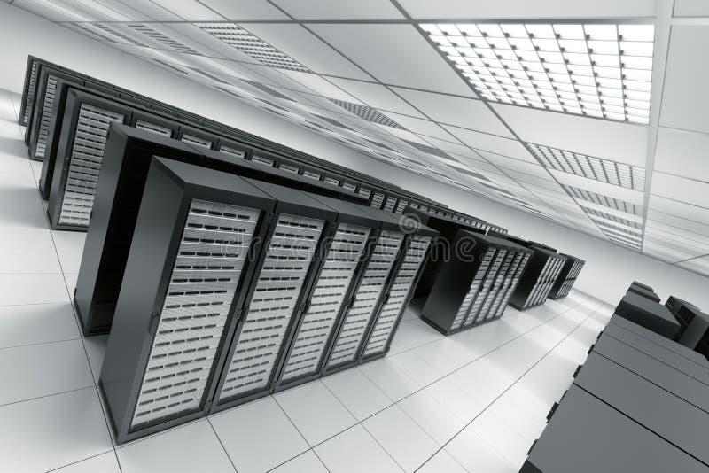 izbowy serwer ilustracja wektor