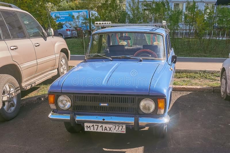 Izh moskvich 412 Front stock photos