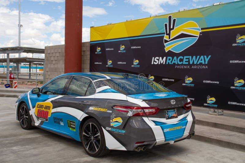 IZM młynówka Phoenix Nascar i IndyCar - obrazy stock
