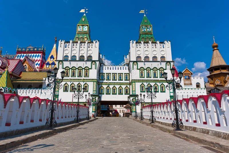 Izmailovo el Kremlin fotografía de archivo libre de regalías