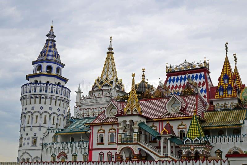 Izmailovo el Kremlin en Moscú, Rusia imágenes de archivo libres de regalías