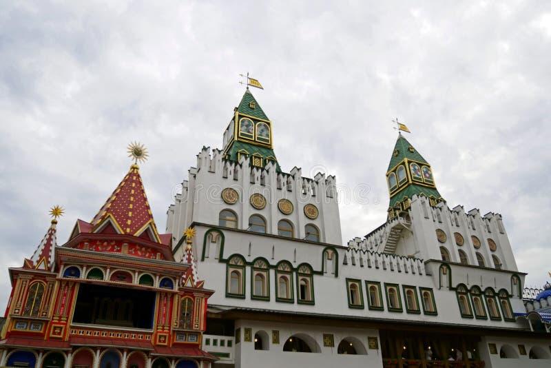 Izmailovo el Kremlin en Moscú, Rusia fotografía de archivo