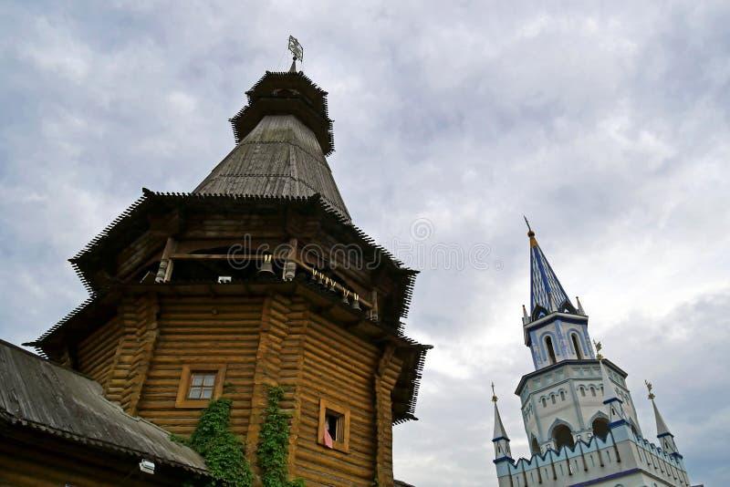 Izmailovo el Kremlin en Moscú, Rusia foto de archivo