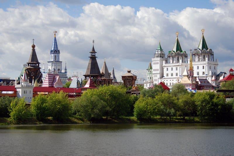 Izmailovo el Kremlin, Moscú, Rusia imagen de archivo libre de regalías