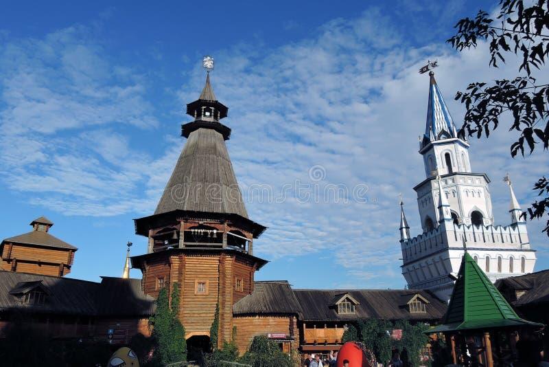 Izmailovo Kremlin fotos de stock royalty free