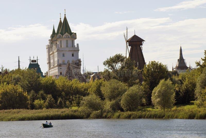 Izmailovo Kremlin em Moscovo imagens de stock royalty free