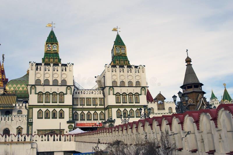 Izmailovo Kremlin em Moscovo foto de stock royalty free