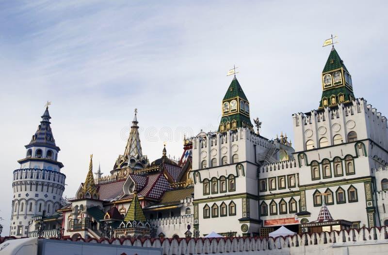 Izmailovo Kremlin em Moscovo fotografia de stock royalty free