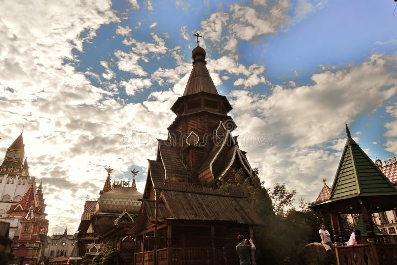 Izmailovo Kremlin em Moscovo Foto a cores fotos de stock