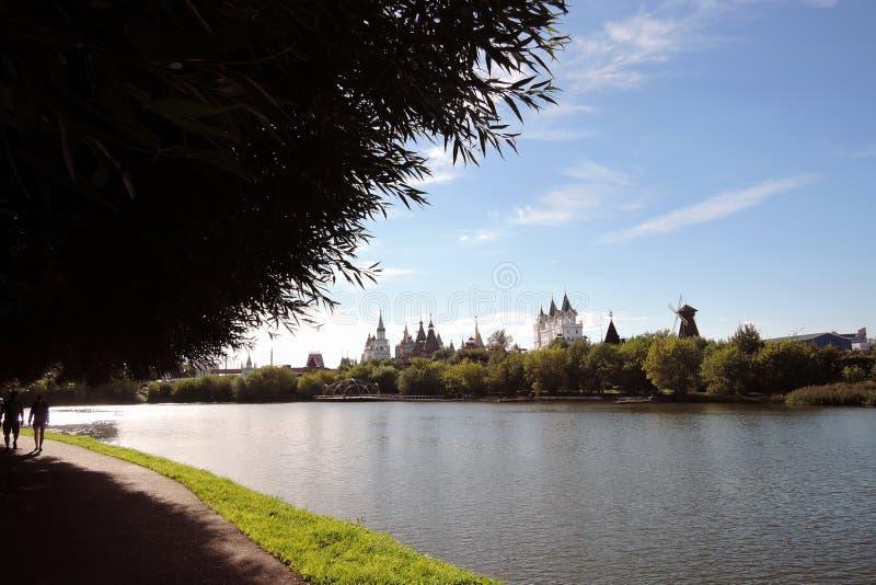 Izmailovo Kremlin en Moscú Foto de color imagenes de archivo