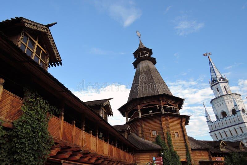 Izmailovo Kremlin en Moscú Foto de color imagen de archivo libre de regalías