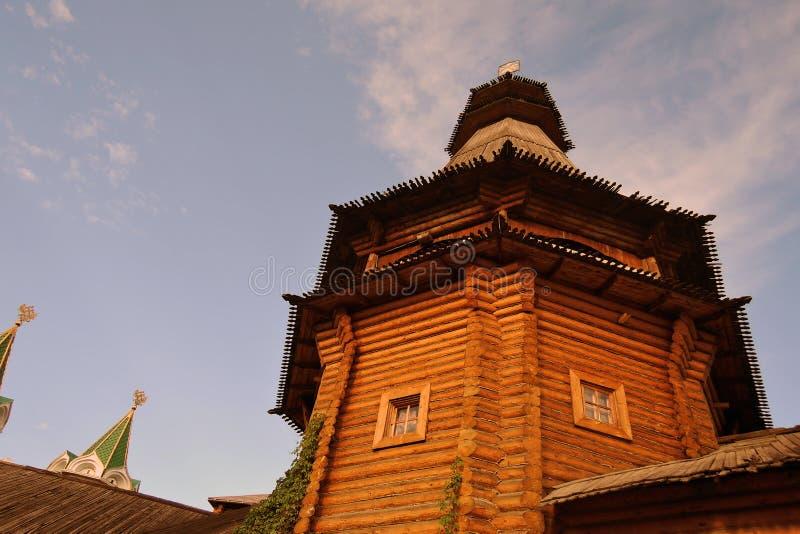 Izmailovo Kremlin en Moscú Foto de color fotografía de archivo libre de regalías